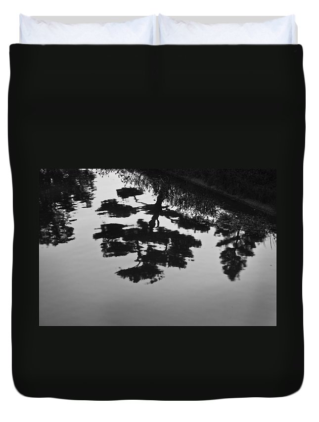 Tranquility Duvet Cover featuring the photograph Tranquility II by John Hansen