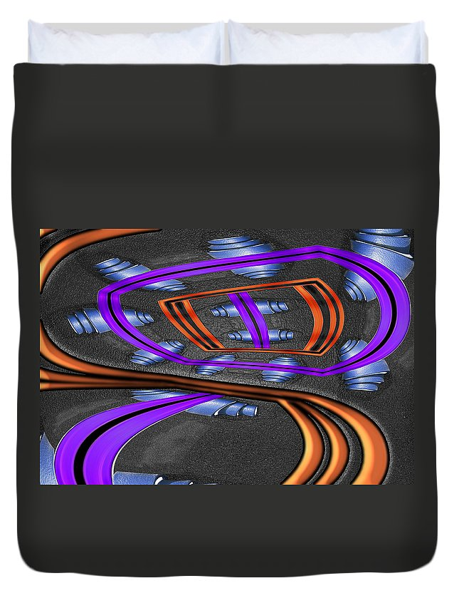 Photography Duvet Cover featuring the photograph Transformer by Paul Wear