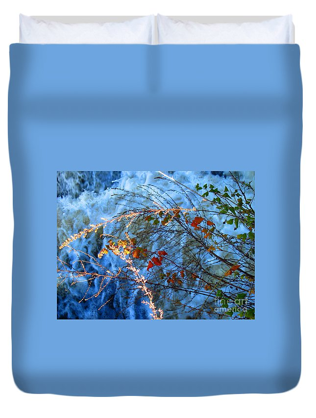 Water Duvet Cover featuring the photograph Life Currents by Sybil Staples