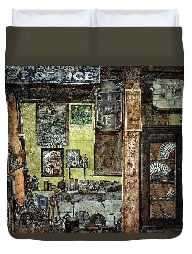 Antiques Duvet Cover featuring the photograph Treasure - Trove by Ed Hall