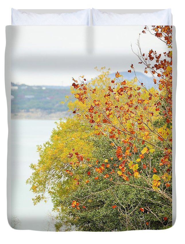 Duvet Cover featuring the photograph Tree 010 by Jeff Downs