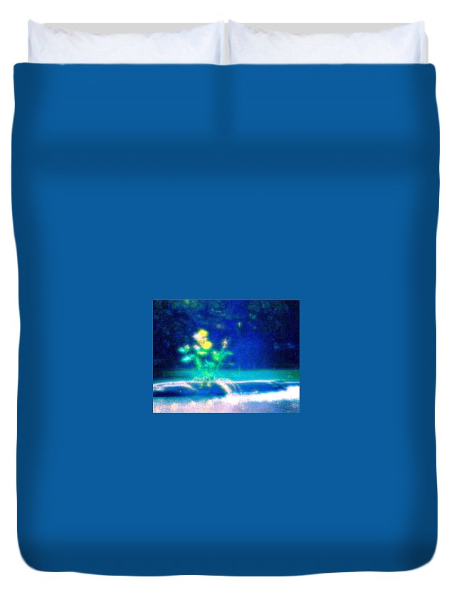 Tree Duvet Cover featuring the photograph Tree Art by Wayne Marsh