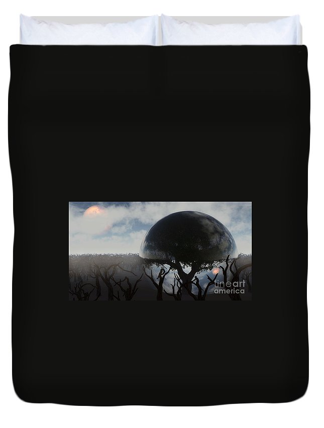 Life Duvet Cover featuring the digital art Tree Of Life by Richard Rizzo