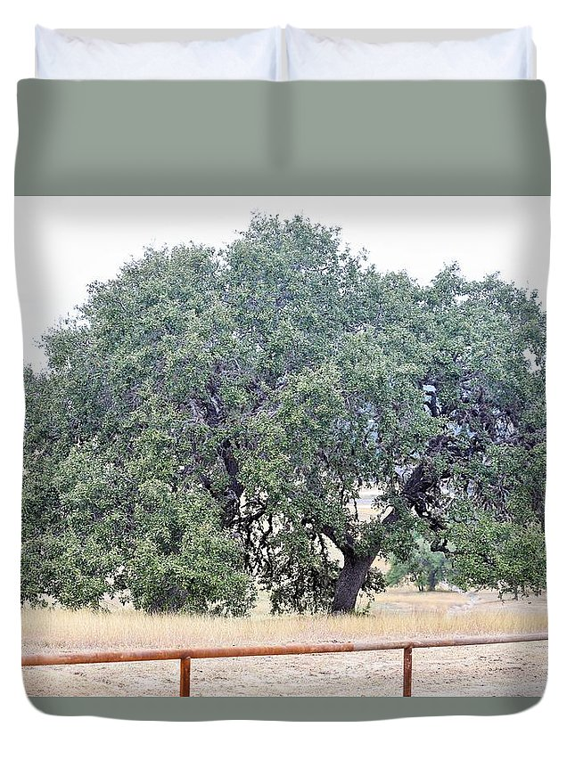 Duvet Cover featuring the photograph Trees 006 by Jeff Downs