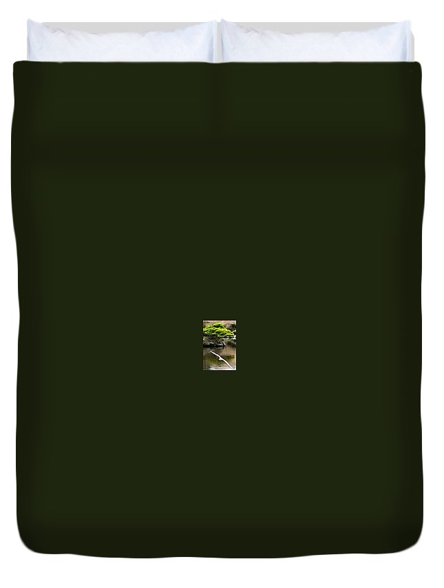 Trees Duvet Cover featuring the photograph Trees In Japan 14 by George Cabig