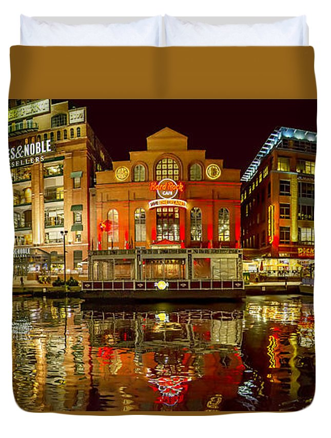 2d Duvet Cover featuring the photograph Tripping The Lights - Pano by Brian Wallace