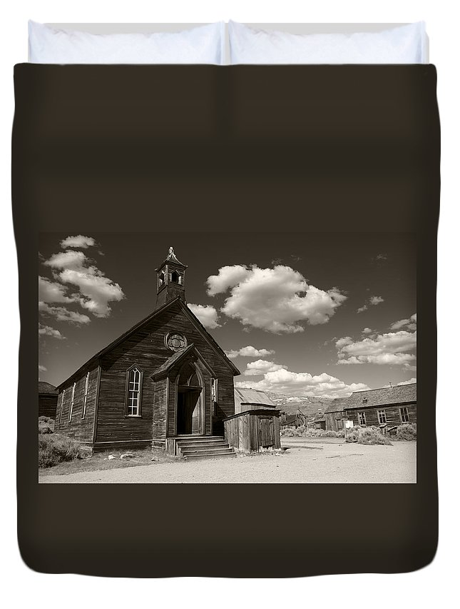 Bodie Duvet Cover featuring the photograph True Religion Tobacco by Ricky Barnard