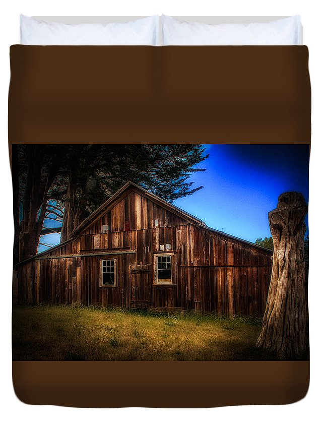 Landscape Duvet Cover featuring the photograph Trustworthy by Mark Memmott
