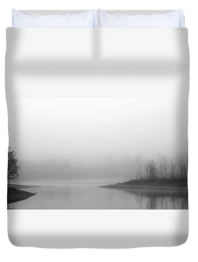 Tuesday Morning Duvet Cover featuring the photograph Tuesday Morning by Ed Smith