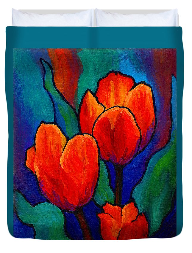 Flower Paintings Duvet Covers