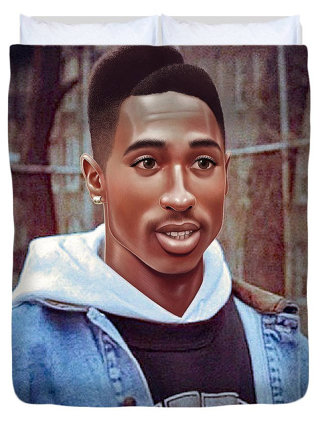 Tupac Shakur Drawing Duvet Cover For Sale By Jovemini Art
