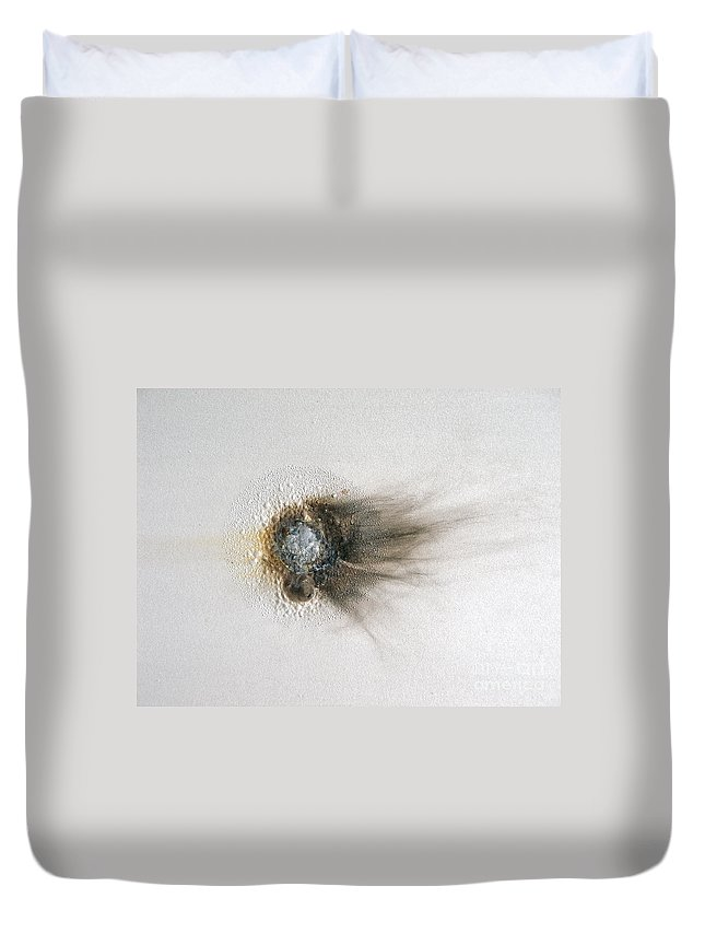 Abstract Duvet Cover featuring the painting Turtles All The Way Down by Jay Taylor