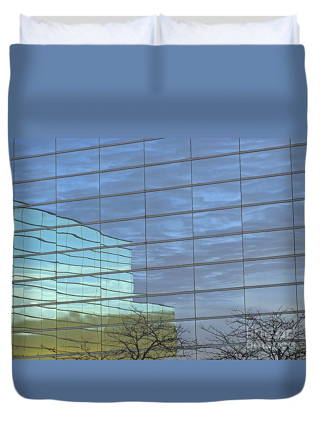 Twilight Duvet Cover featuring the photograph Twilight by Ann Horn