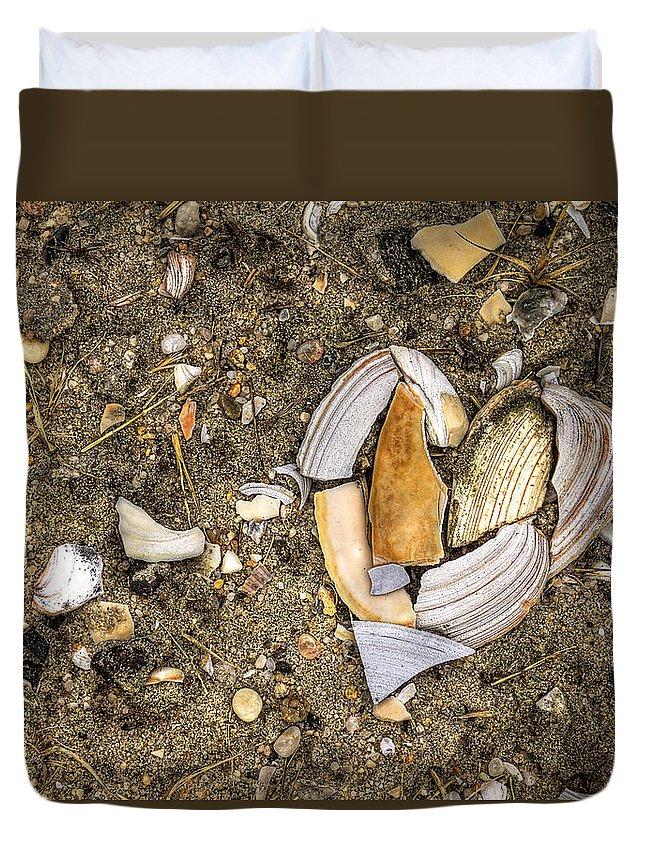 Beach Duvet Cover featuring the photograph Unbreak My Heart by Evelina Kremsdorf