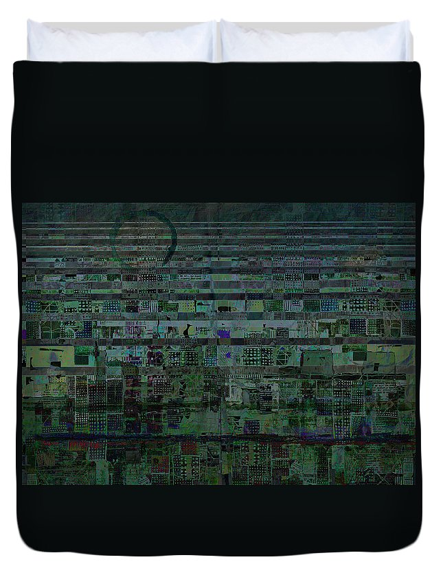Undercurrent Duvet Cover featuring the digital art Undercurrent by Andy Mercer