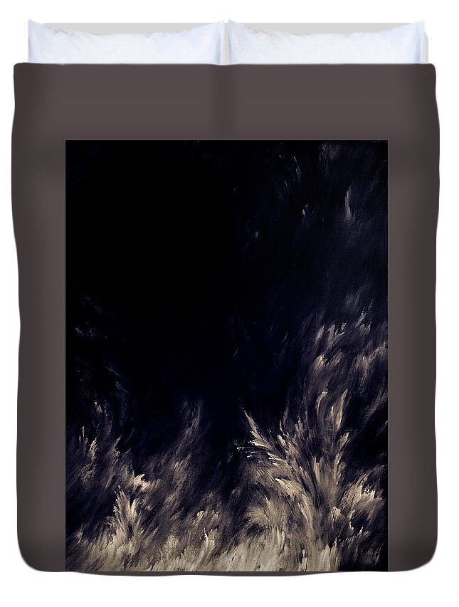 Photoshop Duvet Cover featuring the digital art Unknown Light by Austin Howlett
