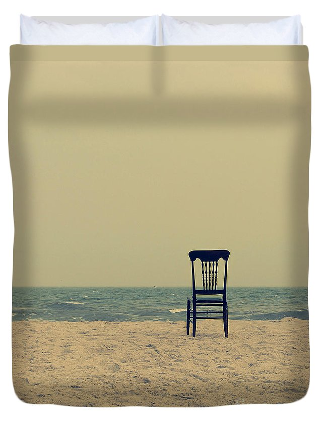 Ocean Duvet Cover featuring the photograph Until Tomorrow And Tomorrow And Tomorrow by Dana DiPasquale