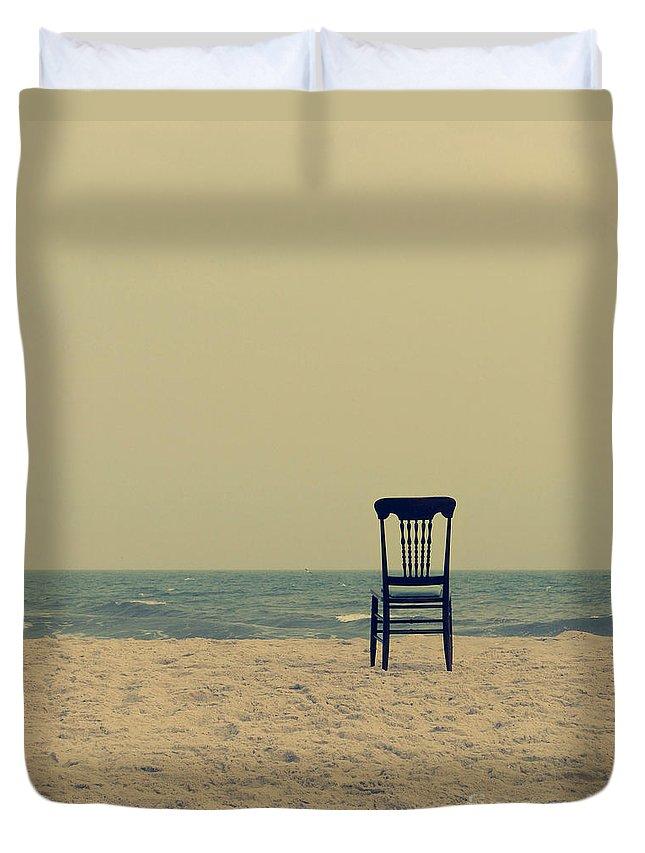 Ocean Duvet Cover featuring the photograph Until Tomorrow And Tomorrow And Tomorrow by Dana DiPasquale
