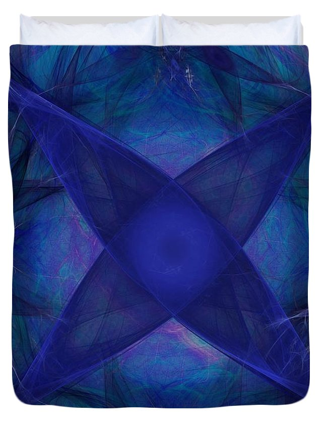 Fantasy Duvet Cover featuring the digital art Untitled 12-01-09 by David Lane