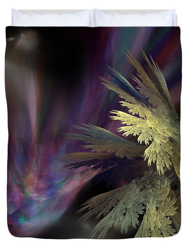 Fantasy Duvet Cover featuring the digital art Untitled 12-05-09 by David Lane