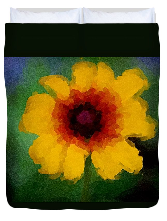 Digital Photograph Duvet Cover featuring the photograph Untitled 9-15-09 by David Lane