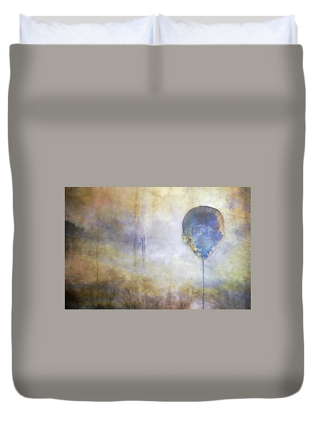 Abstract Duvet Cover featuring the photograph Up Up And Away... by Scott Norris