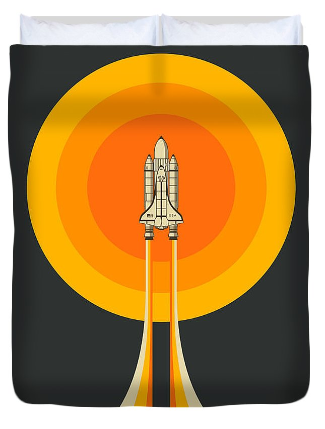 Space Ship Duvet Covers