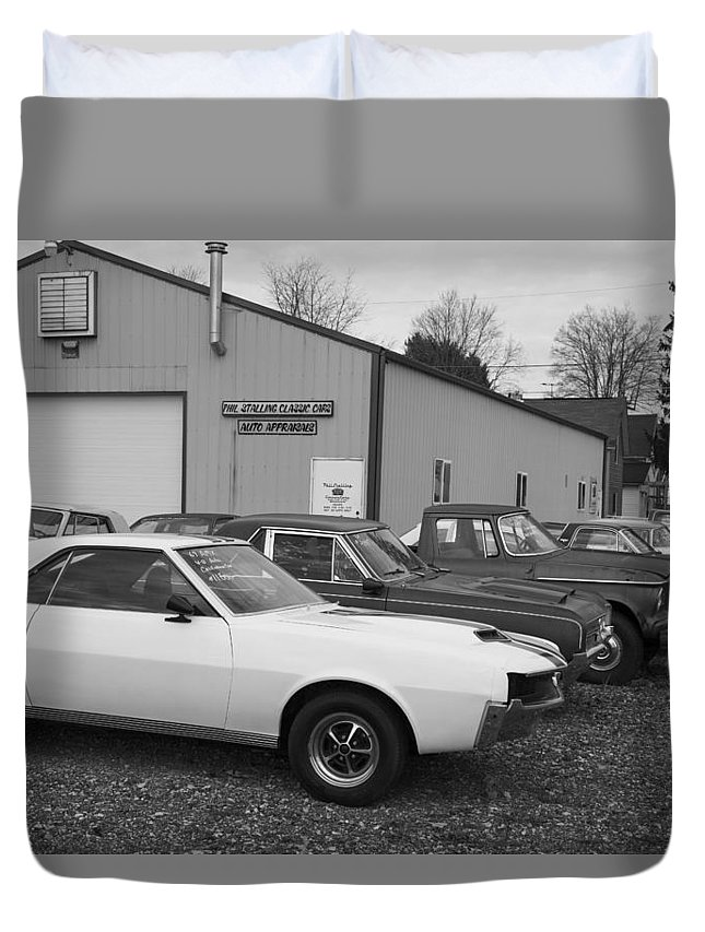 Used Duvet Cover featuring the photograph Used by Jeff Roney
