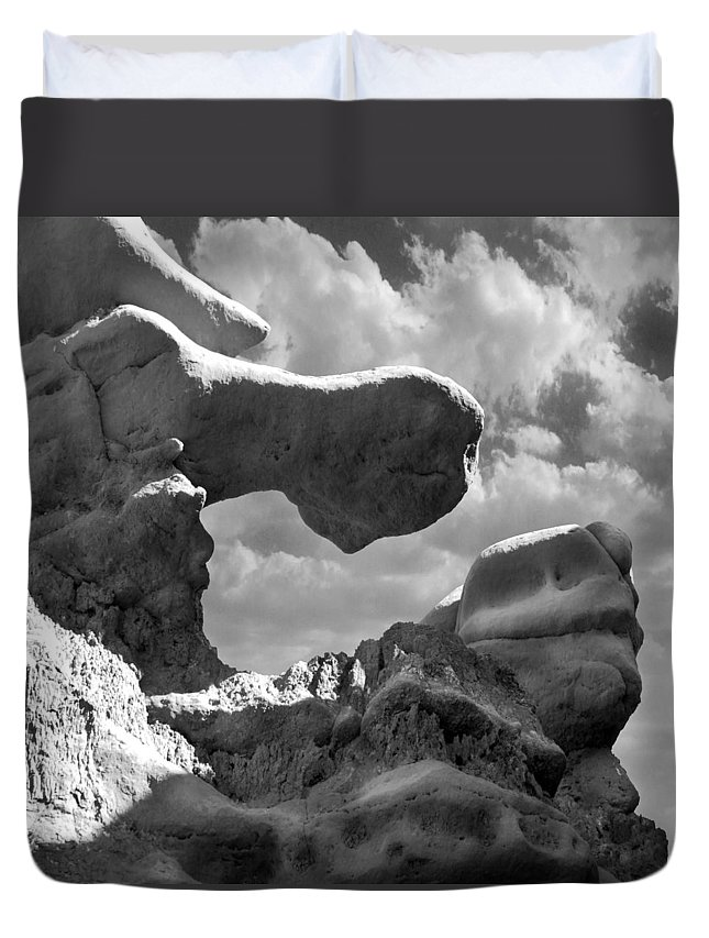 Utah Duvet Cover featuring the photograph Utah Outback 22 by Mike McGlothlen