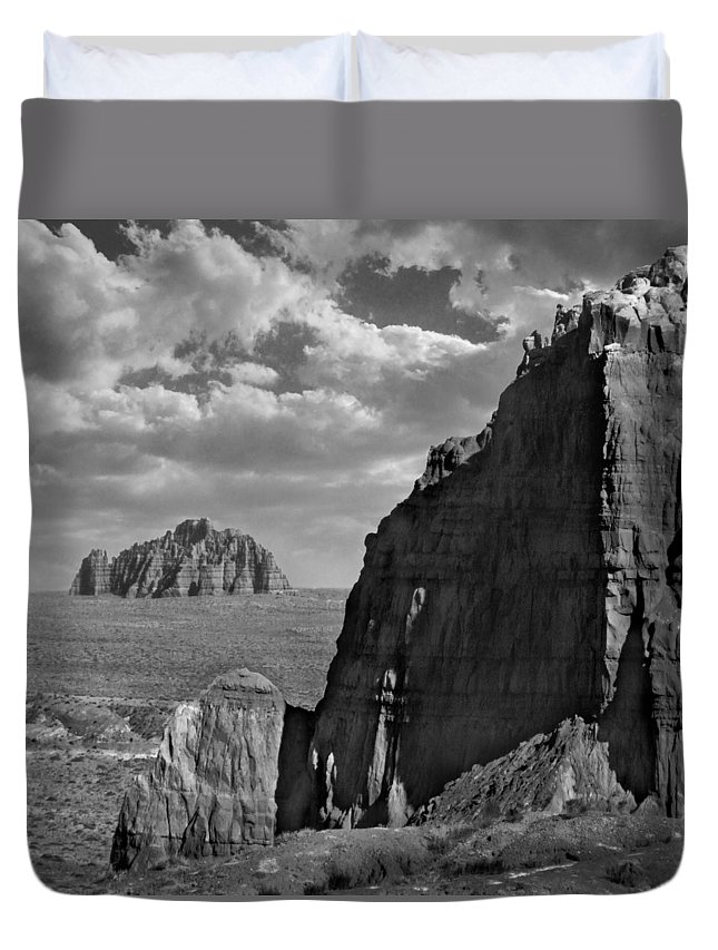 Utah Duvet Cover featuring the photograph Utah Outback 26 by Mike McGlothlen