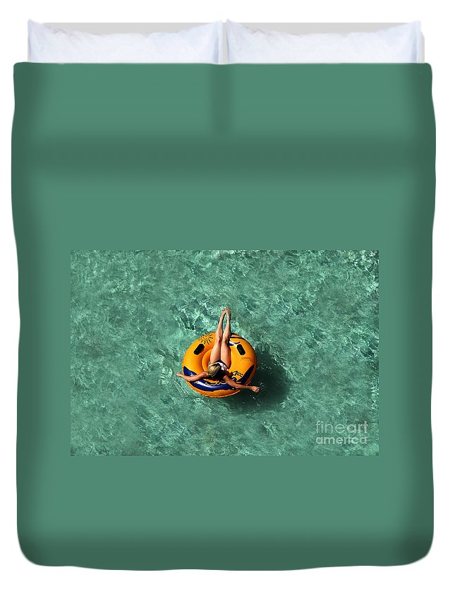 Vacation Duvet Cover featuring the photograph Vacation by David Lee Thompson