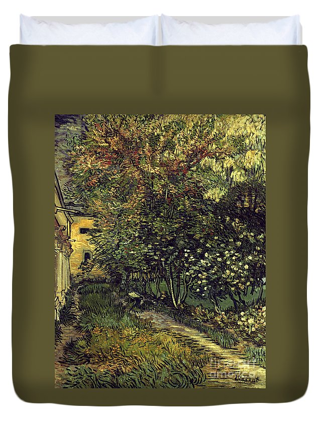 1889 Duvet Cover featuring the photograph Van Gogh: Hospital, 1889 by Granger
