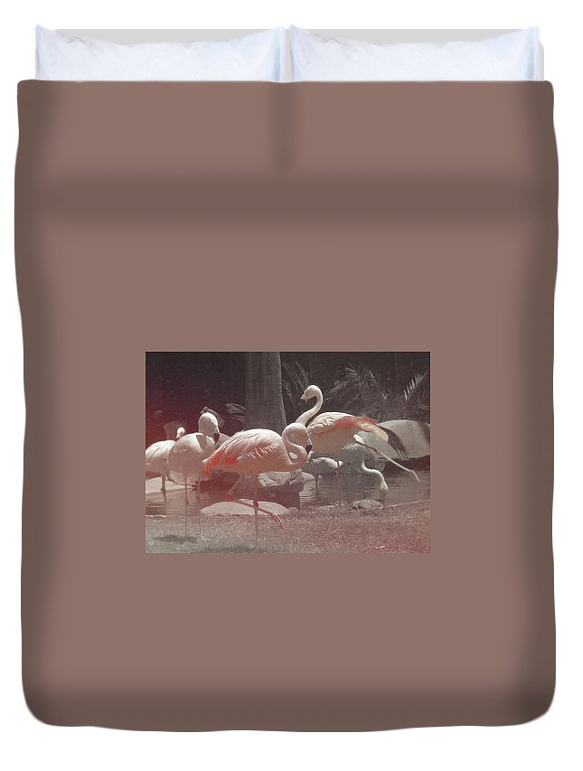 Viva Duvet Cover featuring the photograph Vegas Magic by JAMART Photography
