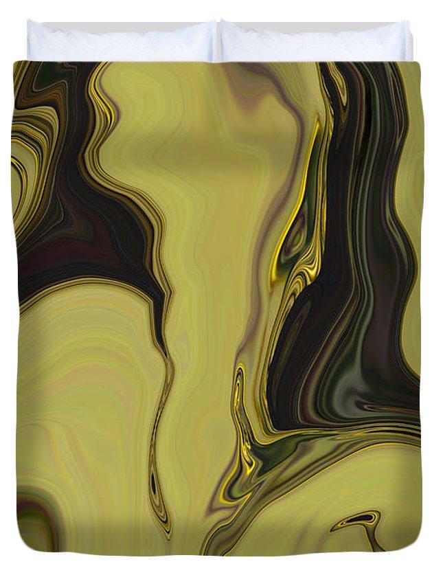 Art Duvet Cover featuring the digital art Venus by Rabi Khan