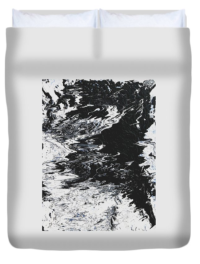 Fusionart Duvet Cover featuring the painting Victory by Ralph White
