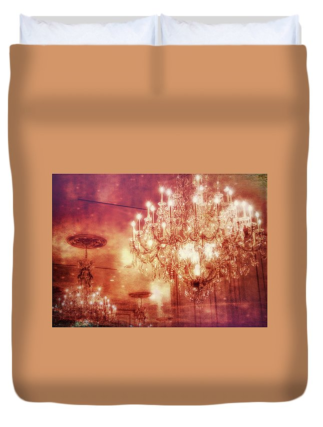 Vegas Duvet Cover featuring the photograph Vintage Light by JAMART Photography