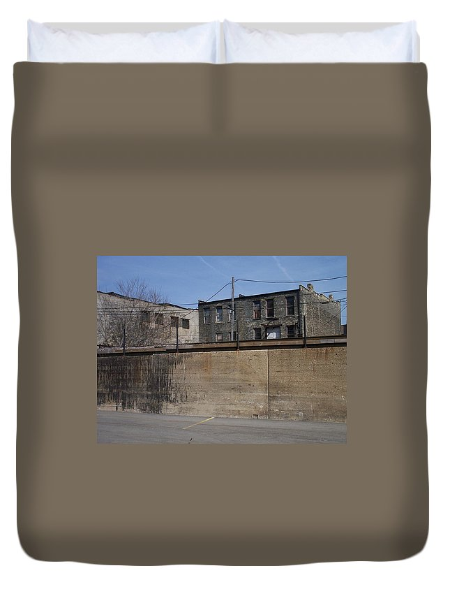 Walker's Point Duvet Cover featuring the photograph Walker's Point 1 by Anita Burgermeister