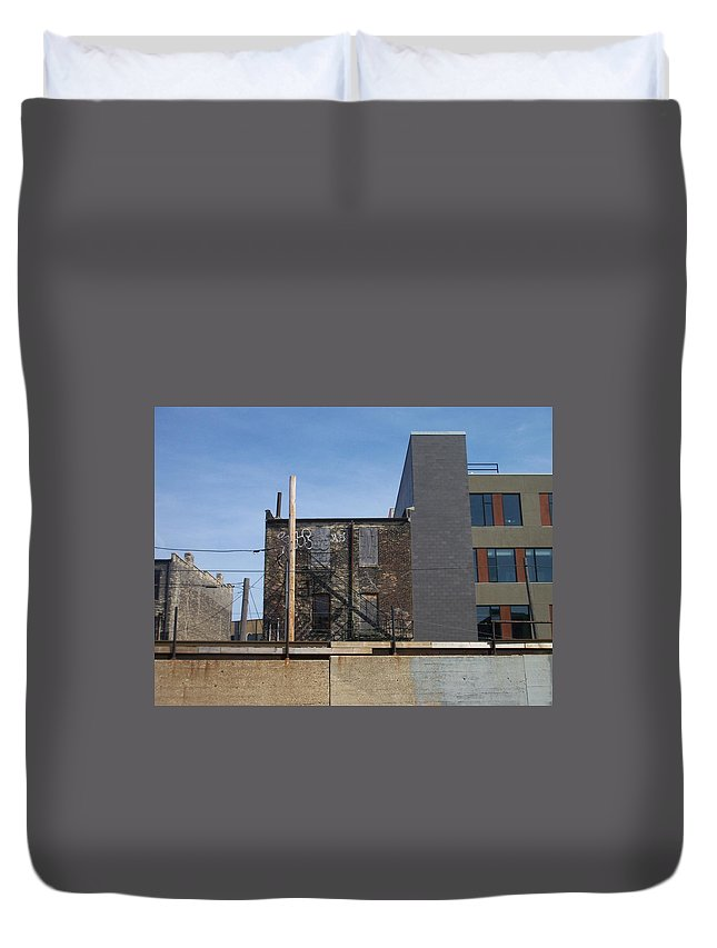 Walker's Point Duvet Cover featuring the photograph Walker's Point 2 by Anita Burgermeister