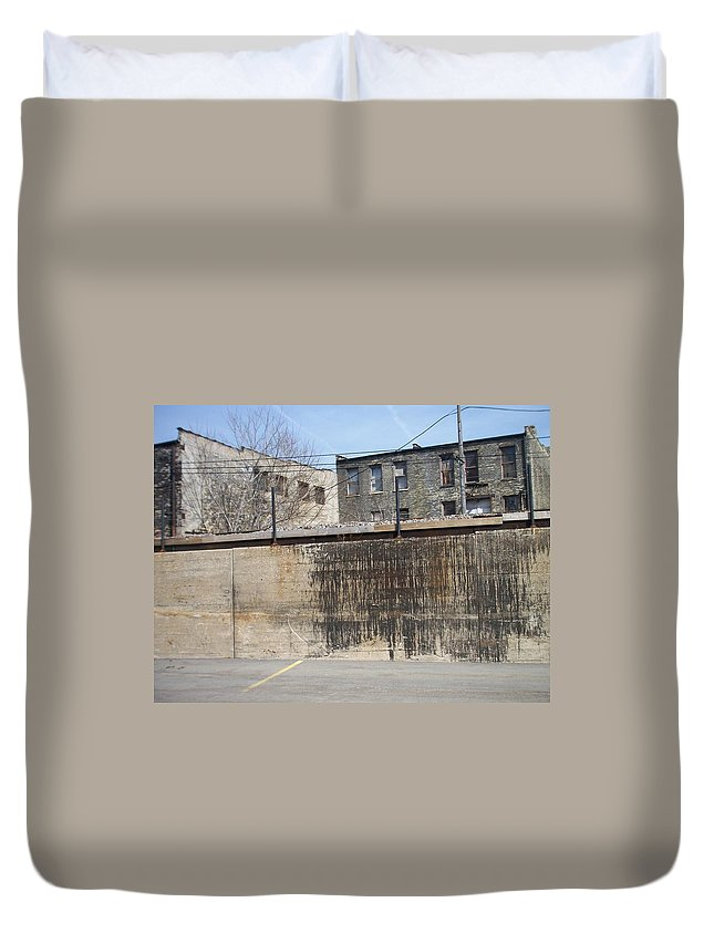 Walker's Point Duvet Cover featuring the photograph Walker's Point 3 by Anita Burgermeister