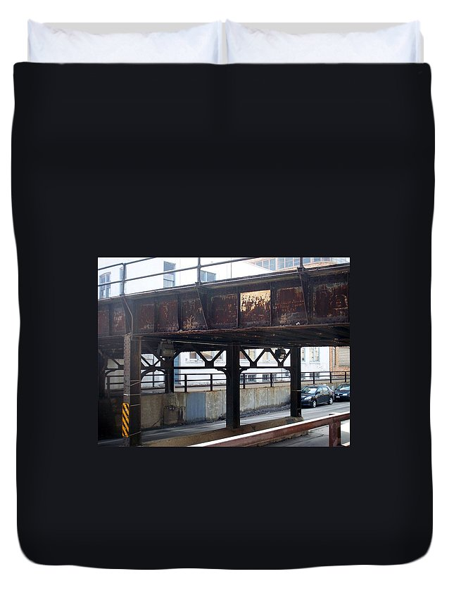 Walker's Point Duvet Cover featuring the photograph Walker's Point 5 by Anita Burgermeister