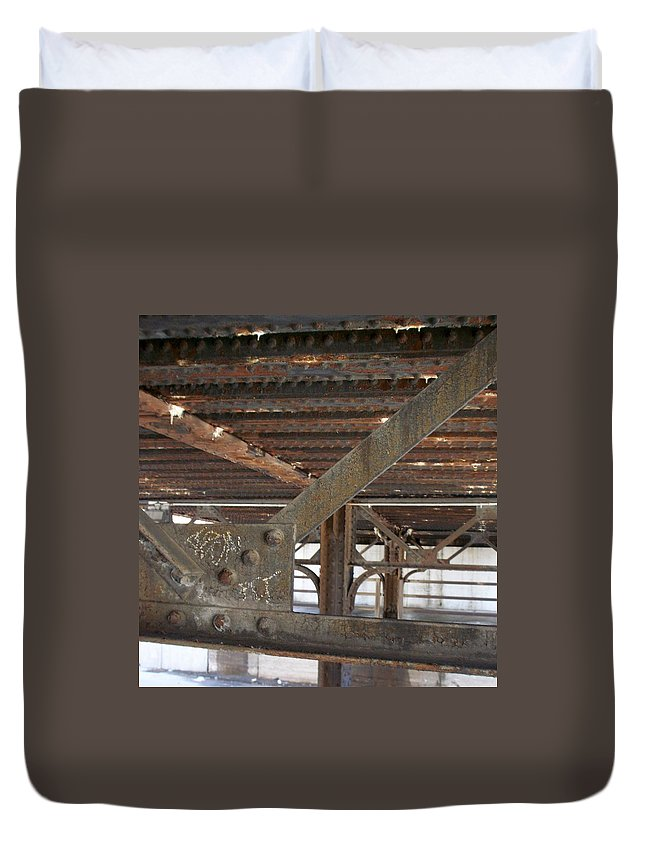 Walker's Point Duvet Cover featuring the photograph Walker's Point 6 by Anita Burgermeister