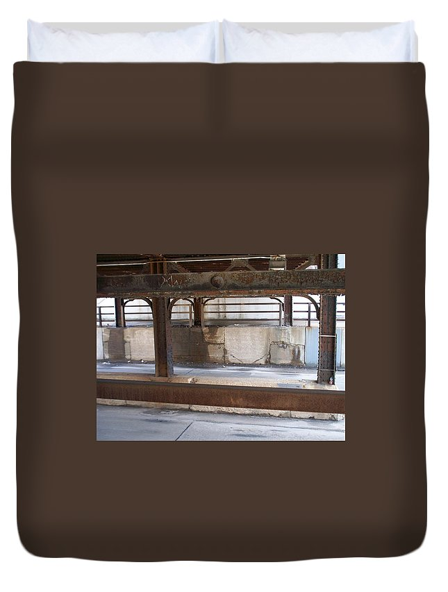 Walker's Point Duvet Cover featuring the photograph Walker's Point 7 by Anita Burgermeister