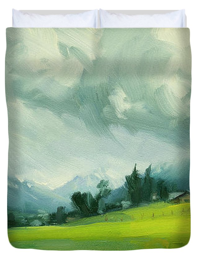 Wallowa Valley Duvet Covers