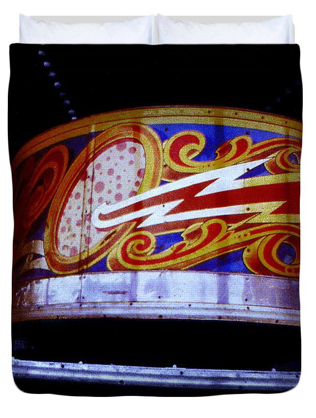 Waltzer Duvet Cover featuring the photograph Waltzer by Charles Stuart