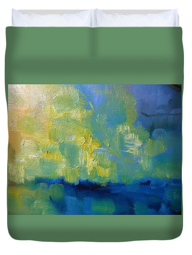 Truck Duvet Cover featuring the painting Wandering Souls by Lord Frederick Lyle Morris - Disabled Veteran