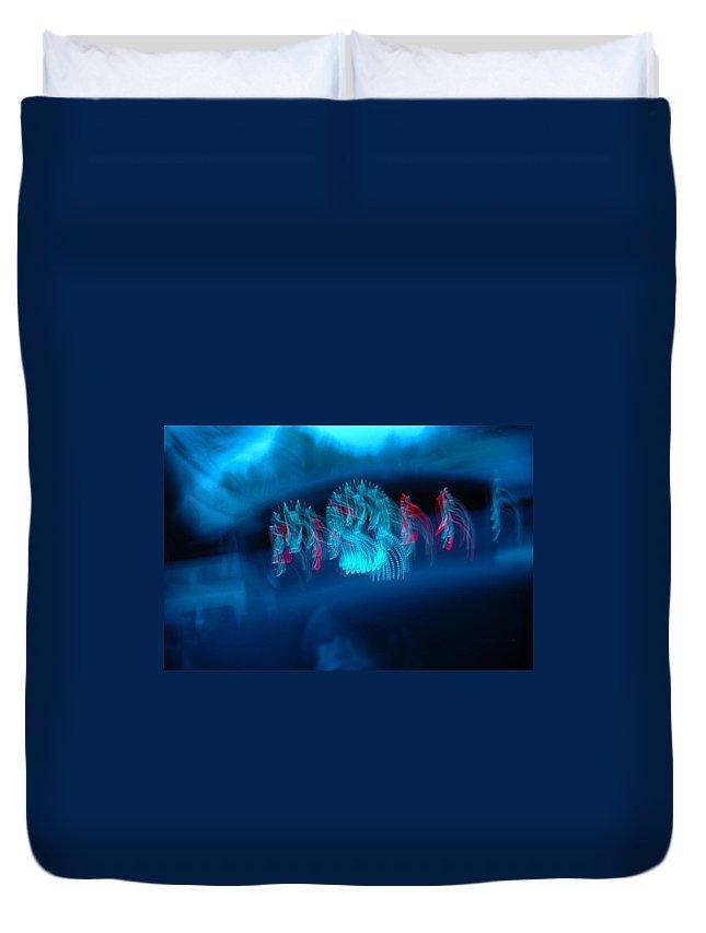 Humorous Duvet Cover featuring the photograph Warped Speed by LeeAnn McLaneGoetz McLaneGoetzStudioLLCcom