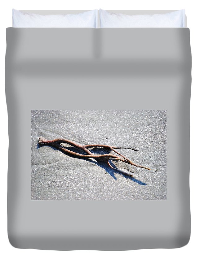 Eric Liller Duvet Cover featuring the photograph Washed Up by Eric Liller