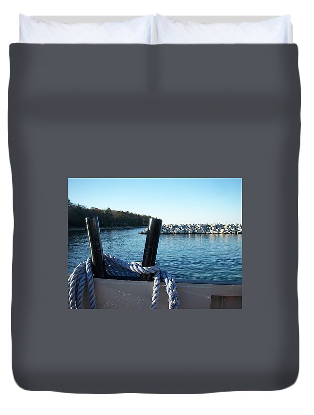 Washington Island Duvet Cover featuring the photograph Washington Island 1 by Anita Burgermeister