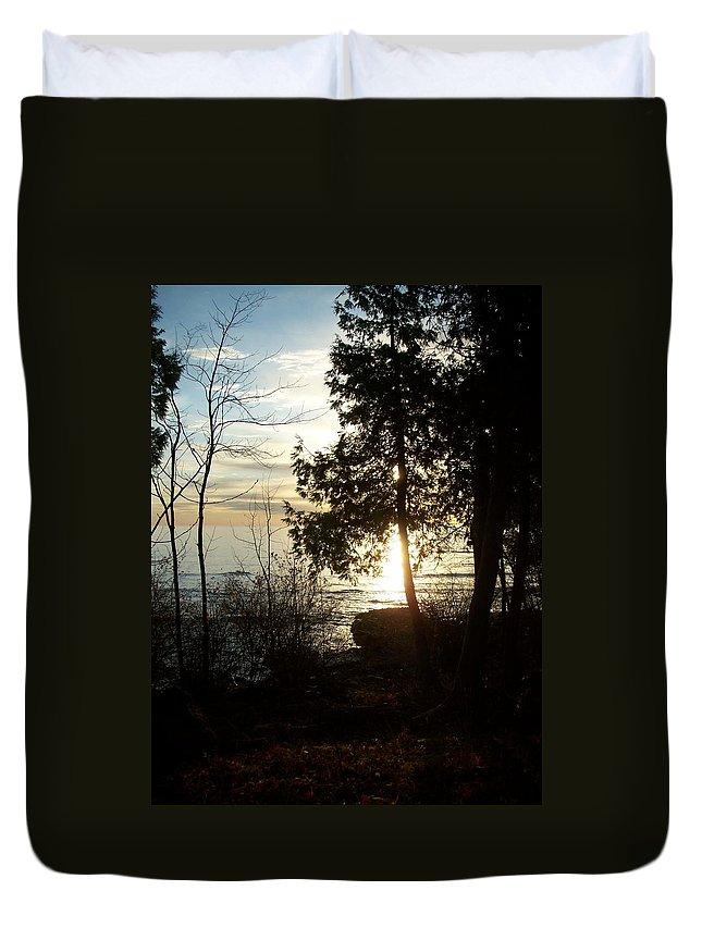Washington Island Duvet Cover featuring the photograph Washington Island Morning 2 by Anita Burgermeister