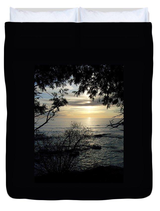 Washington Island Duvet Cover featuring the photograph Washington Island Morning 4 by Anita Burgermeister